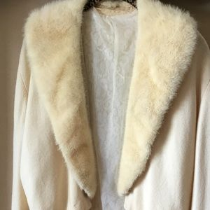 Sweaters - Vintage Mink collar sweater